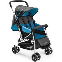 Carrinho De Bebê Berço Flip Azul Multikids Baby - Bb503