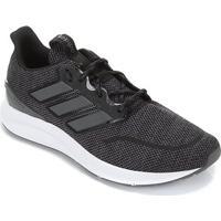 Tênis Adidas Energy Falcon Masculino - Masculino-Preto+Cinza