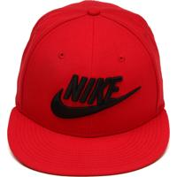 Boné Nike Sportswear Snapback True Futura Vermelho