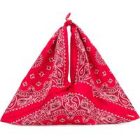 Denimist Paisley Shoulder Bag - Vermelho
