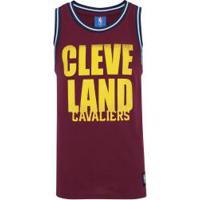 Camiseta Regata Nba Cleveland Cavaliers 17 Retilínea - Masculina - Vinho