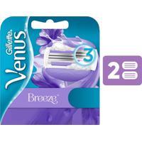 Carga Para Aparelho De Depilar Gillette Venus Breeze 2 Unidades