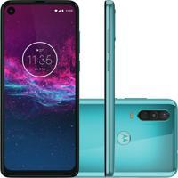 "Smartphone Motorola One Action Verde 128Gb 4Gb Ram 6.3"" Full Hd Plus"