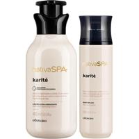 Combo Nativa Spa Karité: Loção Hidratante 400Ml + Body Splash