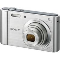 Câmera Digital Sony Dsc-W800 20Mp/5X/Hd Prata