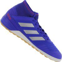 Chuteira Futsal Adidas Predator 19.3 In - Adulto - Azul
