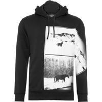 Blusa Masculino Andy Warhol - Preto