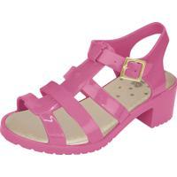 Sandália Flib Infantil Aranha Salto Plástico Pink