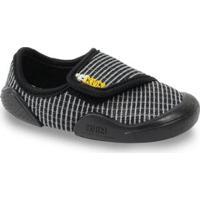 Sapato Infantil Klin New Comfort Masculino - Masculino-Preto