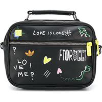 Fiorucci X Adidas Airliner Crossbody Bag - Preto
