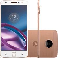 "Smartphone Motorola Moto Z Power Edition Xt1650-03 - 3° Geração - Branco - 64Gb - 13Mp - Tela 5.5"" - Android 6.0"