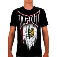 Camiseta Tapout Mma California Preta