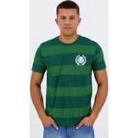 Camiseta Palmeiras Listrada Masculina - Masculino