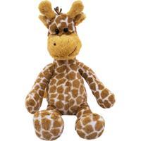 Pelúcia Minas De Presentes Girafa Amarelo - Kanui