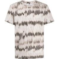 Isabel Marant Camiseta Com Estampa De Listras - Neutro