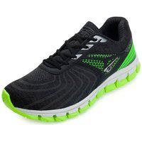 Tênis Running Glk Gl21-170G Preto-Verde