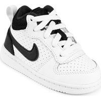 Tênis Couro Nike Court Borough Mid - Feminino