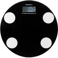 Balança Digital Multilaser Hc024 180 Kg Eastmart Preta