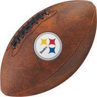 820cdb4f613c4 Netshoes  Bola De Futebol Americano Wilson Throwback Nfl Jr. Pittsburgh  Steelers - Unissex