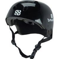 Capacete Para Skate Bob Burnquist Es0 - Adulto - Preto