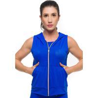 Colete Sandy Fitness Maxx Air Azul