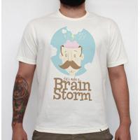 Brainstorm - Camiseta Clássica Masculina