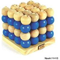 Jogo Da Velha Tridimensional - Newart - Brinquedo Educativo