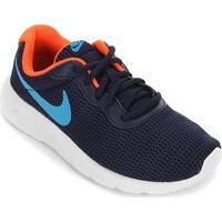 Tênis Infantil Nike Tanjun Masculino - Masculino-Azul Escuro