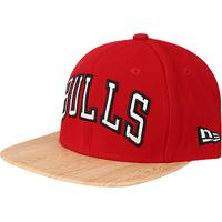 38ffea2489a84 ... Boné New Era Nba Chicago Bulls 950 Aba Reta Of Sn Wood -  Unissex-Vermelho