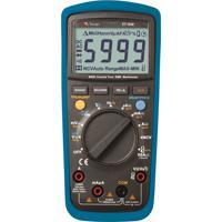 Multímetro Digital Catiii 3 5/6 Dígitos / True Rms / Teste Tensão Minipa Et-1649