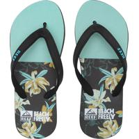 Chinelo Reef Switchfoot Fusion Verde