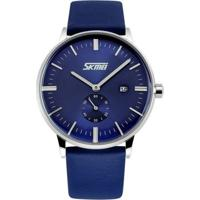 Relógio Skmei Analógico 9083 Azul