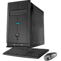 Computador Desktop Cce C43 - Intel Celeron 847 - Ram 4Gb - Hd 320Gb - Gravador De Dvd - Windows 8
