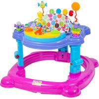 Andador Infantil Centro Atividades Musical Baby Style Meninas