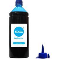 Tinta Para Epson L220 Bulk Ink Sublimática Cyan 1 Litro Koga