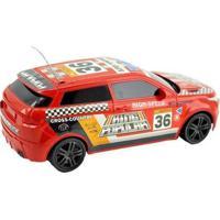 Carrinho De Controle Remoto Motor Sport - 7 Funções - Unissex-Vermelho