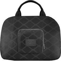 Bolsa De Viagem Dobrável- Preta & Branca- 35X41X16Cmjacki Design