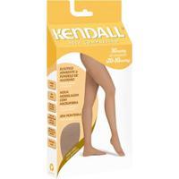 fa57f4b44 ... Meia-Calça Kendall Compressão Feminina - Feminino-Marrom+Branco