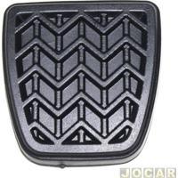 Capa De Pedal - Corolla 1992 Até 2014 - Hilux 1997 Até 2005 - Freio / Embreagem - Preta - Cada (Unidade)