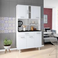 Cozinha Compacta Atenas 6 Pt 1 Gv Branco