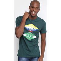 Camiseta Chapecoense Flag Umbro Masculina - Masculino