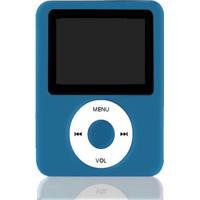 Mp4 Player Square Azul Sd / Fm / E-Book / Gravador