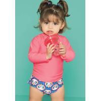 Camiseta Baby Lisa Menina 110200170 Puket