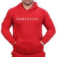 Moletom Blusa De Frio Ramazzoni In Line Marca Famosa Vermelho