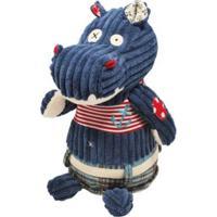 Pelúcia Original Hippipos O Hipopótamo Deglingos Feminina - Feminino-Azul