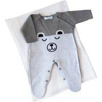Kit Saída Maternidade 2 Peças Urso Polar Cinza