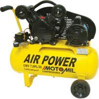 Compressor De Ar 1Hp Monofásico 110/220Volts Cmv-7.6Pl/30 Motomil
