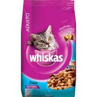 Ração Para Gatos Whiskas Sabor Peixe Único Com Delicrocs 500G