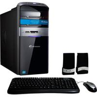 Computador Zmax Com Processador Intel® Core I7-4790, 4Gb De Memória.