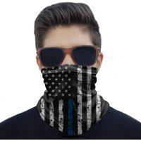 Máscara Bandana Estados Unidos Eua Proteção Ciclismo Moto.